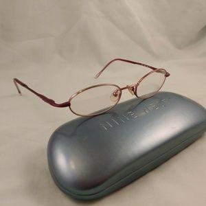 NINE WEST Rx Eyeglasses Metal Frames Full Rim